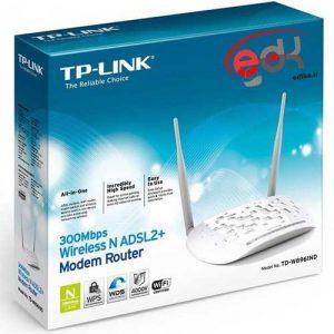 مودم دو آنتن تی پی-لینک سری +ADSL2 مدل TD-W8961N
