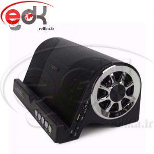 اسپيکر بلوتوثي قوي با کیفیت HD+پایه نگهدارنده گوشی+رم و فلش خور ws-1601