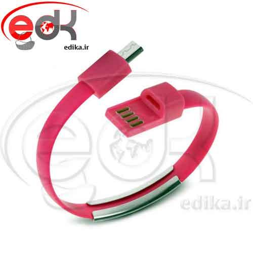 کابل اندرويد دستبندي در رنگ بندی - زیبا و کاربردی
