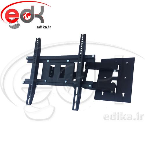 پایه دیواری بازویی تک بازو مناسب 40-50 اینچ مدل BKG