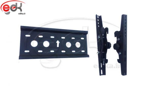 پایه دیواری متحرک مناسب 15-43 اینچ مدل BKU