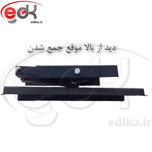 پایه دیواری بازویی تک بازو مناسب 15-43 اینچ مدل BKU