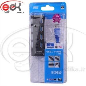 هاب کلید دار 4پورت Maxtouch 4Port USB3.0