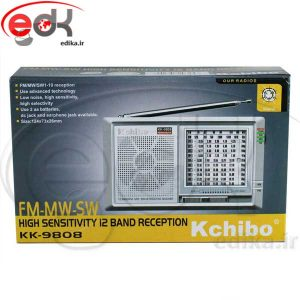 رادیو موج های پخش FM / AM / SW1-10 مدل Kchibo KK-9808