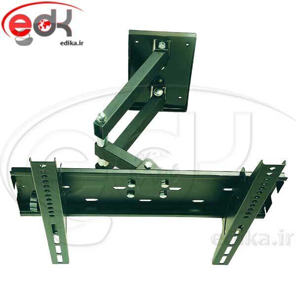پایه دیواری بازویی تک بازو بزرگ مناسب 40-50 اینچ مدل BKN