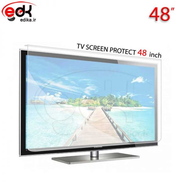 محافظ صفحه نمایش تلویزیون48 اینچ تخت و منحني