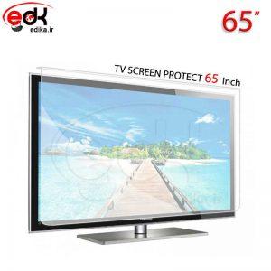 محافظ صفحه نمایش تلویزیون65 اینچ تخت و منحني