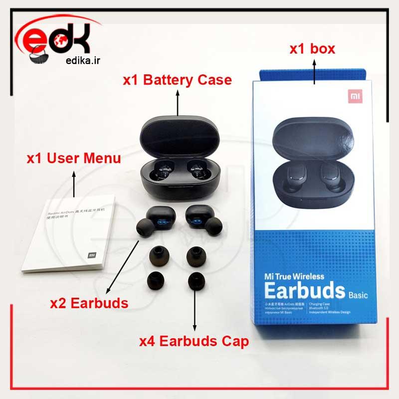 هندزفری بلوتوث شیائومی مدل Earbuds Basic