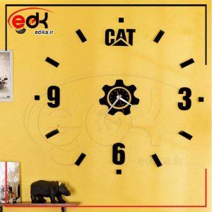 ساعت دیواری فانتزی طرح CAT