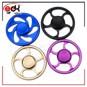 اسپینر طرح چرخ در رنگ بندی های متنوع