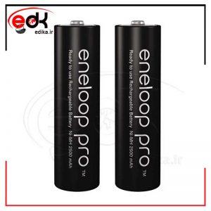 باتری دو تایی قلمی شارژی Panasonic Eneloop BK-3HCDE