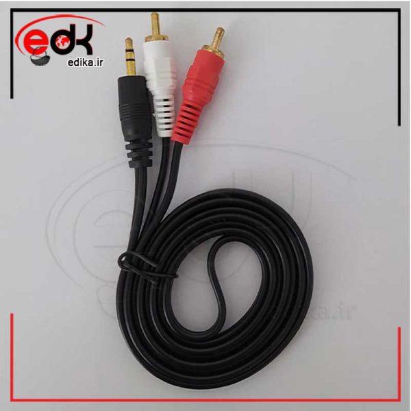 کابل 1به2 صدا MW-NET مدل 100 طول 1.5 متر