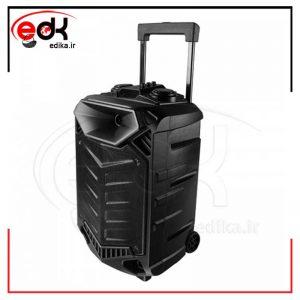 اسپیکر چمدانی بلوتوثی رم و فلش خور تسکو TSCO TS-1900 + میکروفن و ریموت کنترل