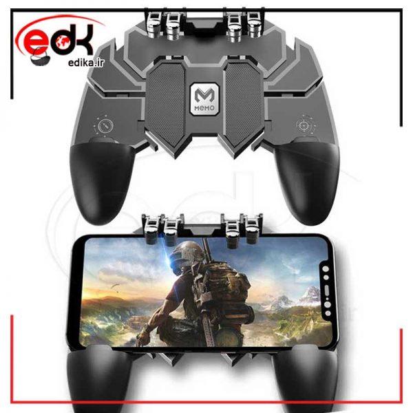 دسته بازی pubg مدل AK 66 مناسب برای گوشی موبایل