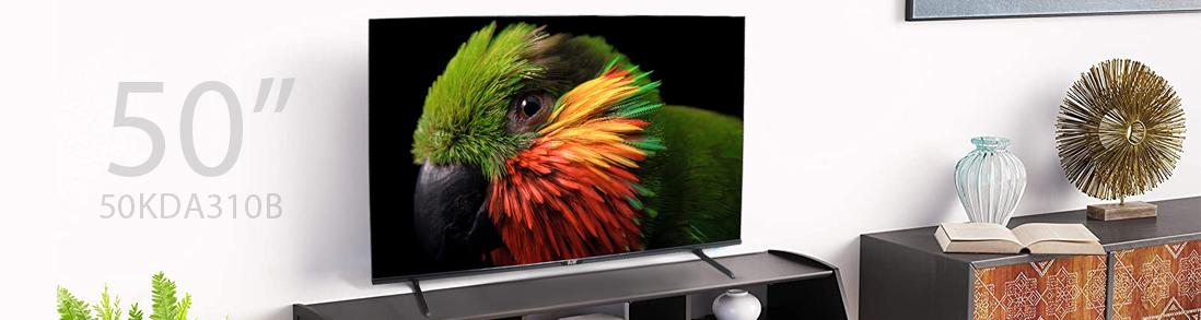 تلویزیون ال ای دی هوشمند بلست مدل BTV-50KDA310B سایز 50 اینچ + شش ماه گارانتی تعویض